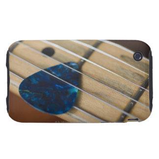 Secuencias de la guitarra eléctrica carcasa resistente para iPhone