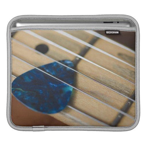 Secuencias de la guitarra eléctrica mangas de iPad