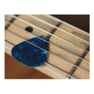 Secuencias de la guitarra eléctrica tarjetas postales