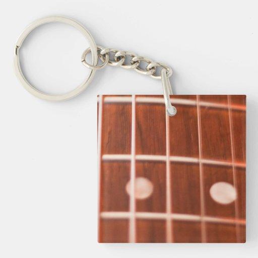 Secuencias de la guitarra llaveros