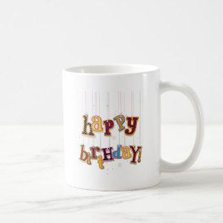 Secuencias del cumpleaños tazas