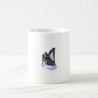 Secuencias gráficas del diseño de la imagen del ju taza de café