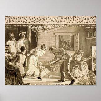 Secuestrado en Nueva York, 'el Den del secuestrado Impresiones