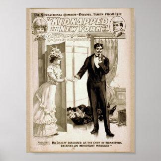 Secuestrado en Nueva York Poster