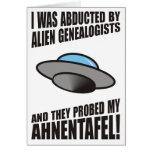Secuestrado por los Genealogists extranjeros Felicitación
