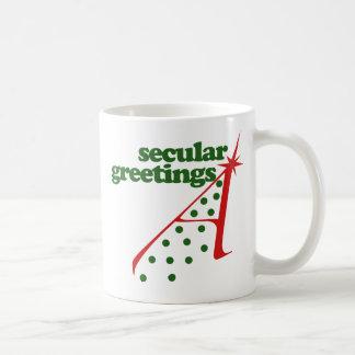Secular Greetings Coffee Mug