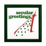 Secular Greetings Keepsake Box