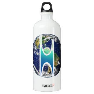 Secular H+ Earth Water Bottle