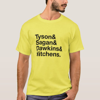 Secular Heroes Yellow and Black T-Shirt