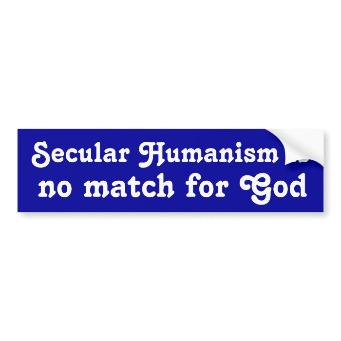 secular humanism One of the most organized, most challenging and most clearly non-christian philosophies of today is secular humanism it is ably represented and defended by a core of.