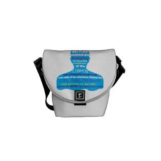 Secular Humanism Messenger Bag