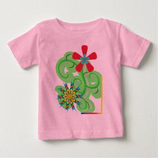 Secular Humanist & Atheist Symbol Flowers Baby T-Shirt
