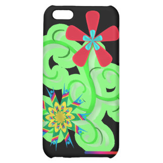 Secular Humanist & Atheist Symbol Flowers Case For iPhone 5C