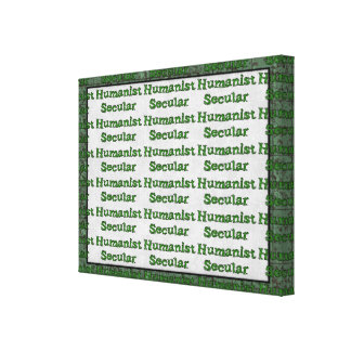 Secular Humanist Canvas Print