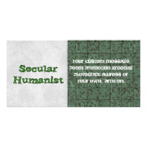 Secular Humanist Card