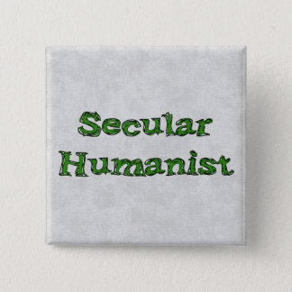 Secular Humanist Pinback Button