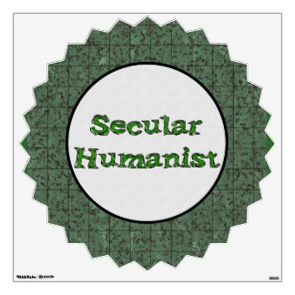 Secular Humanist Wall Decal