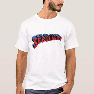 SECULARIST! The real super hero! T-Shirt