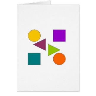 Secundario ligero tarjeta de felicitación