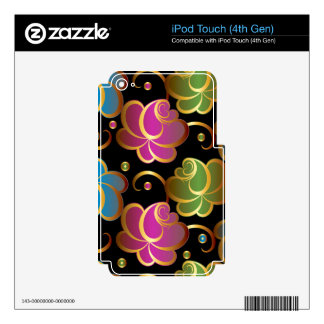 Secure Calm Neat Rewarding iPod Touch 4G Skins
