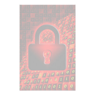 Secure data stationery