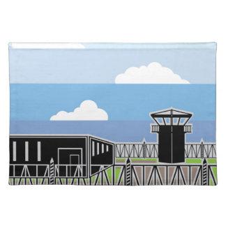 Secure Facility Prison Camp Placemat