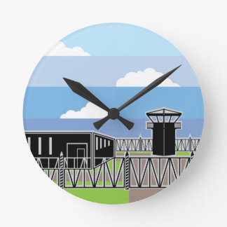 Secure Facility Prison Camp Round Clock