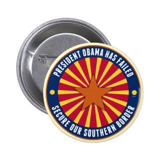 Secure Our Southern Border Pinback Buttons