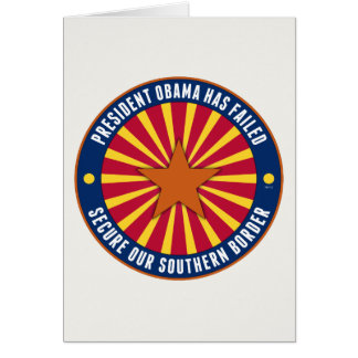 Secure Our Southern Border Card