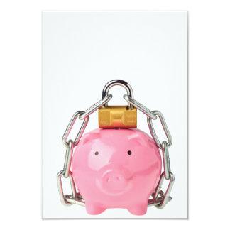 Secure savings personalized invitation