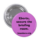 Secure the Briefing room Button