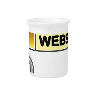 Secure Website Symbol Icon Beverage Pitchers