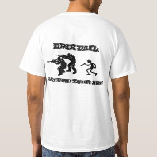 Secure Your Six (Back) T-Shirt