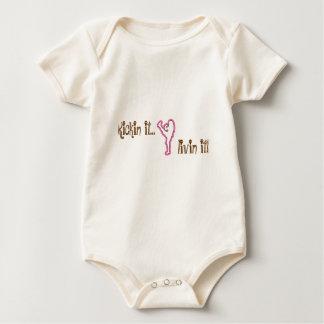 ¡securedownload-1, Kickin él…, livin él! Body Para Bebé