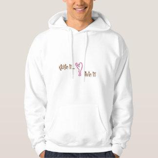 securedownload-1, Kickin it....., livin it! Hooded Sweatshirt