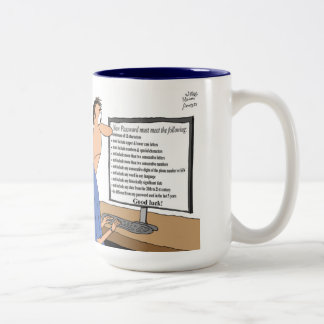 Security Analyst takes the job too seriously - Mug