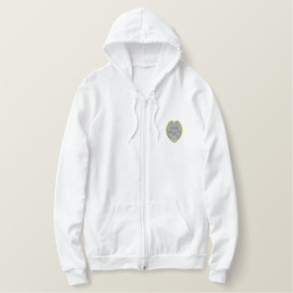 Security Badge Embroidered Hoody