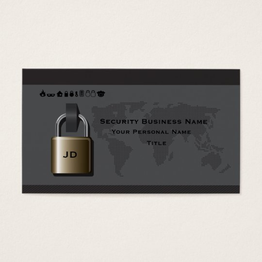 Security  Business Business Card