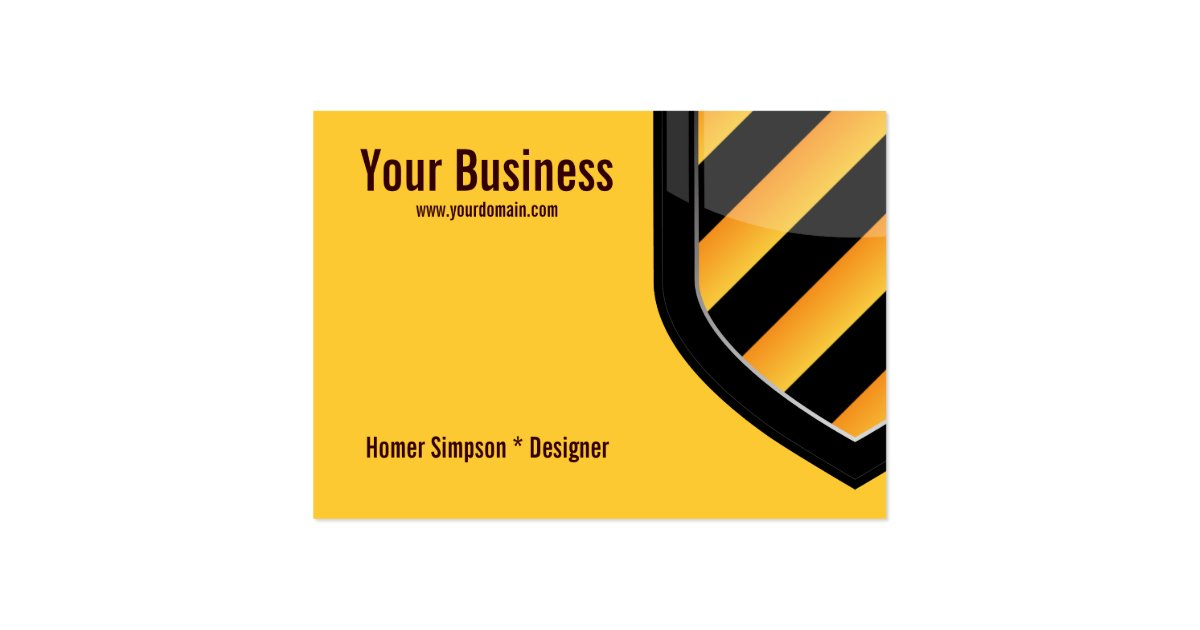 Security business card zazzle for Cctv business card