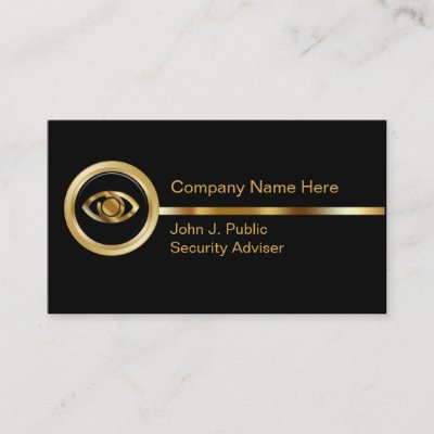 Home Security Business Cards Zazzle