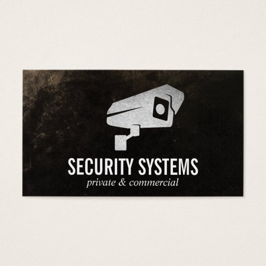 security camera business cards & templates | zazzle, Presentation templates