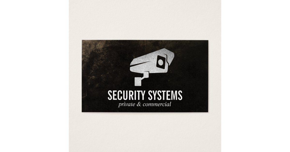 Security Camera Business Card | Zazzle.com