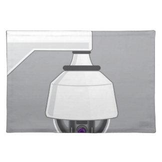 Security Camera Cloth Placemat