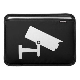 Security Camera Pictogram MacBook Air Sleeve