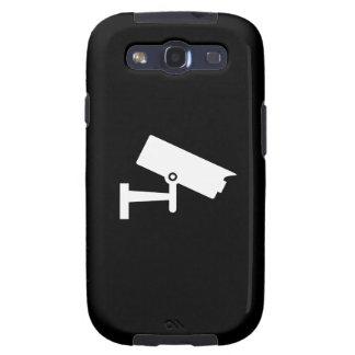 Security Camera Pictogram Samsung Galaxy S3 Case