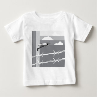 Security Camera. Secure Facility. Baby T-Shirt