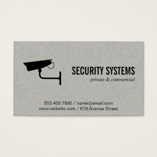 Security Camera (variation II) Business Card