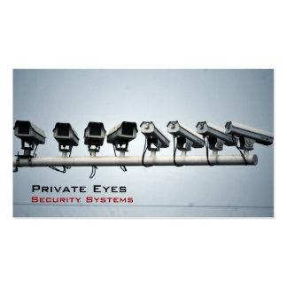 Security Cameras Business Card