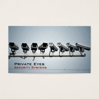 Security Cameras Business Card