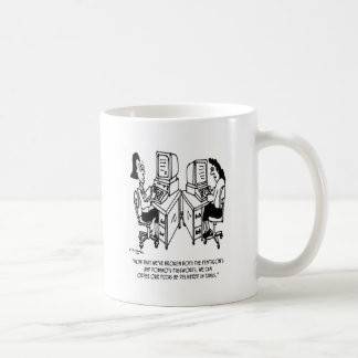 Security Cartoon 4348 Coffee Mug